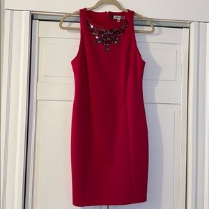 Pink Dress with Gemstones